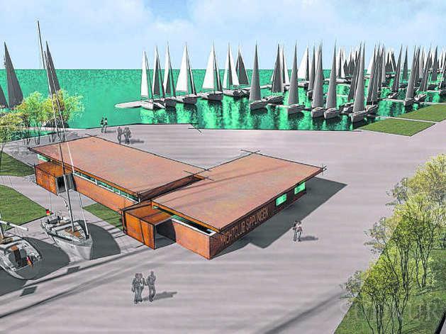 Hafenmeistergebäude Entwurf Variante 4 - Fassade
